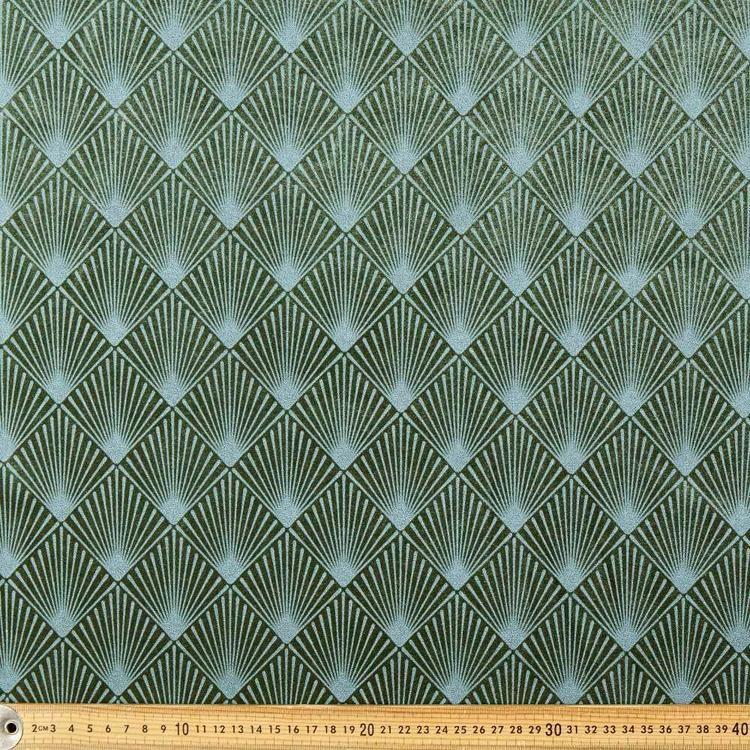 Diamond Printed Velveteen G1 148 cm Fabric