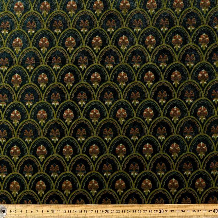 Scallop Velveteen G1 148 cm Fabric