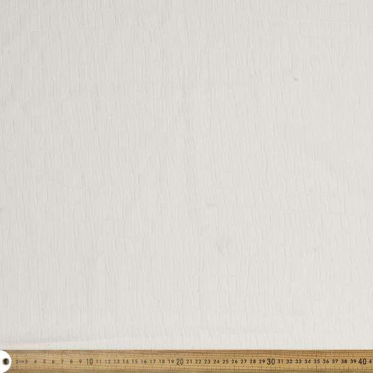 Plain Poly Spandex 132 cm Dobby Crepe Fabric