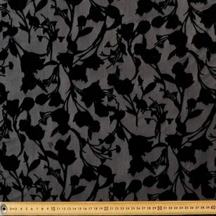 #1 Printed Burnout Rayon Velvet Fabric