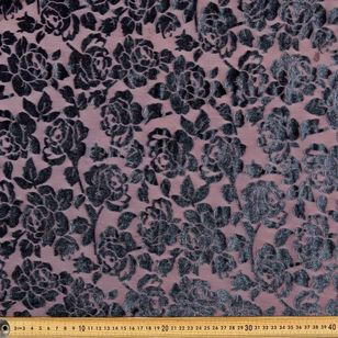 #2 Printed Burnout Rayon Velvet Fabric