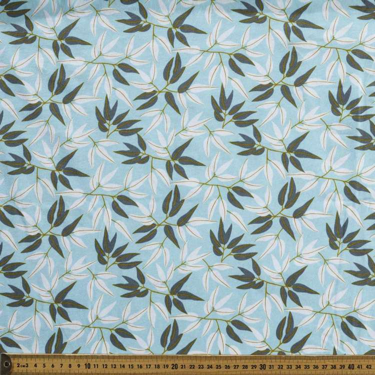 Jocelyn Proust Gum Leaf Printed Organic Cotton Jersey Fabric
