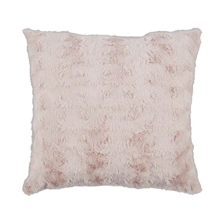 Living Space Mae Faux Fur Cushion