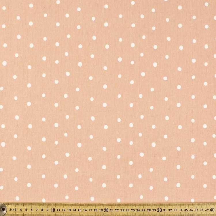 Spotty Printed 148 cm Cotton Spandex Fabric