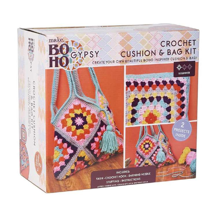 Make Boho Gypsy Crochet Kit