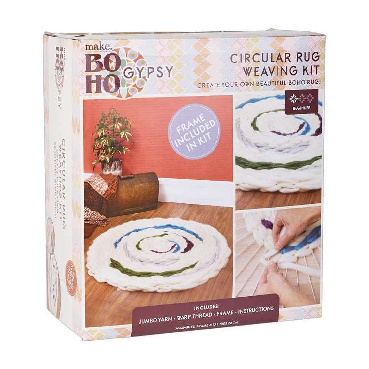 Make Boho Gypsy Rug Weaving Kit
