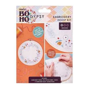 Make Boho Gypsy Embroidery Kit