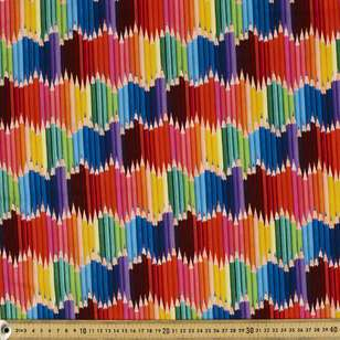 Pencil Layers Cotton Fabric