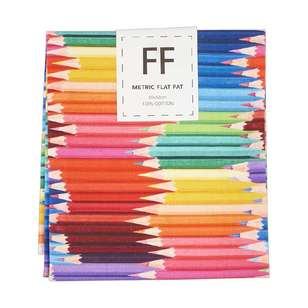 Pencil Layers Cotton Flat Fat