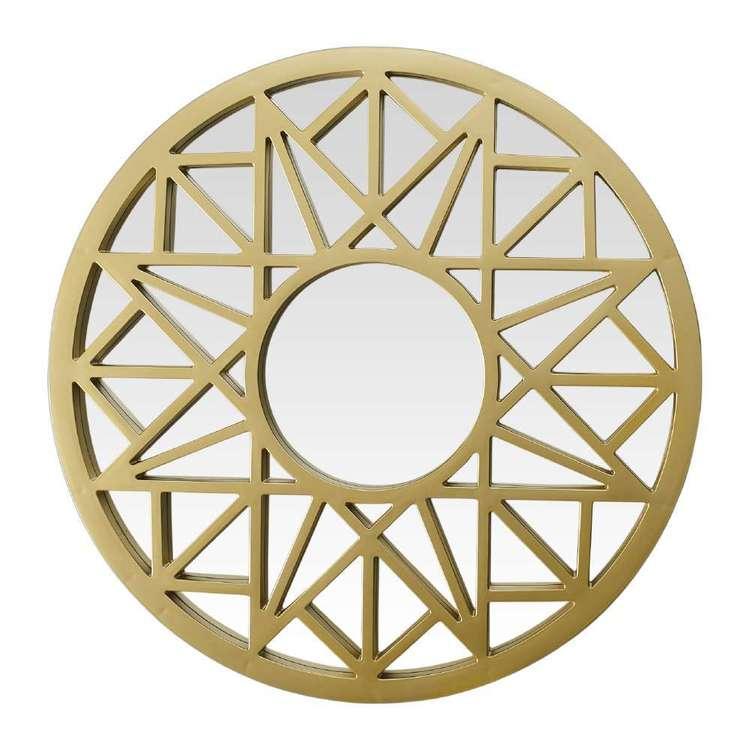 Cooper & Co Eclectic Treasures Decorative Circle Mirror
