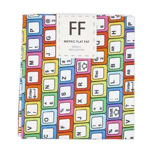 Keyboard Cotton Flat Fat