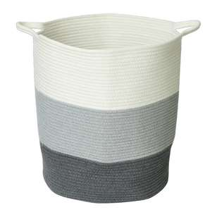 Living Space Braid Cotton Rope Basket