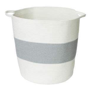Living Space Braid Cotton Rope Basket #2