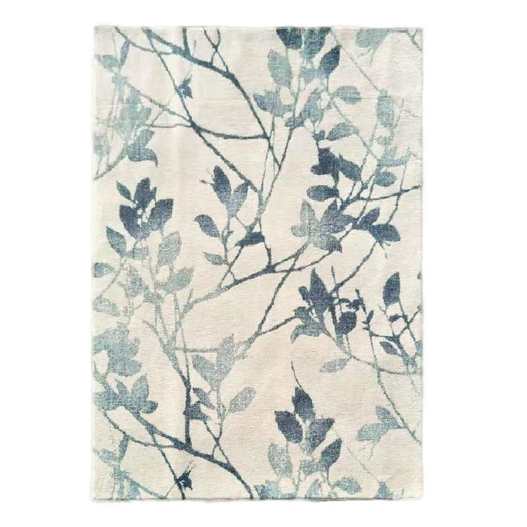 Ragdoll Winter Leaf Polyester Rug