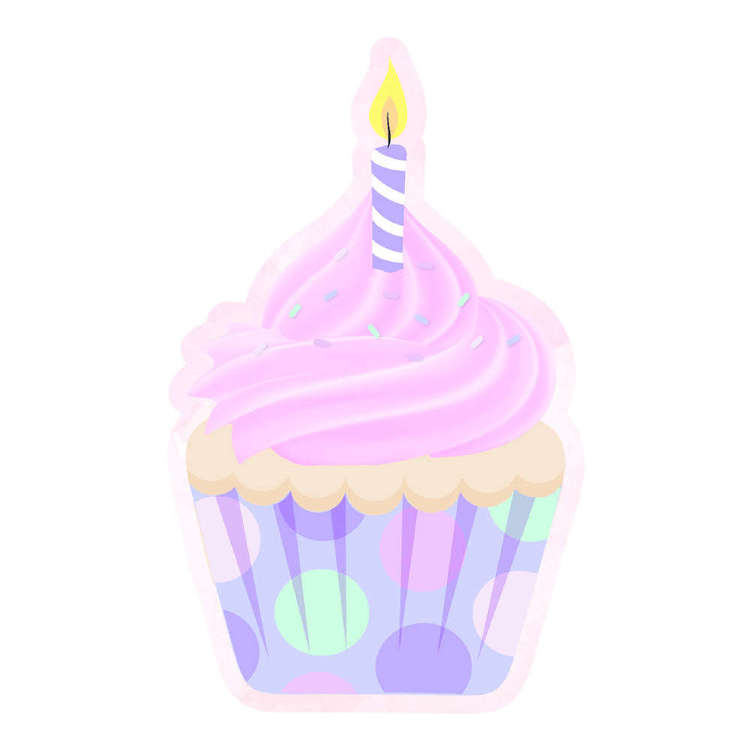 Artwrap Cupcake Invites 8 Pack