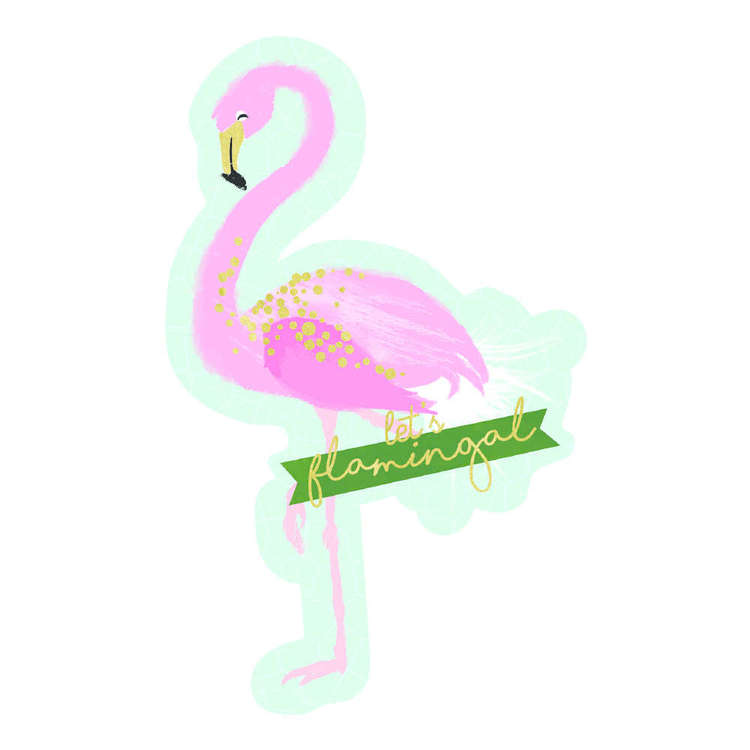 Artwrap Flamingo Invites 8 Pack