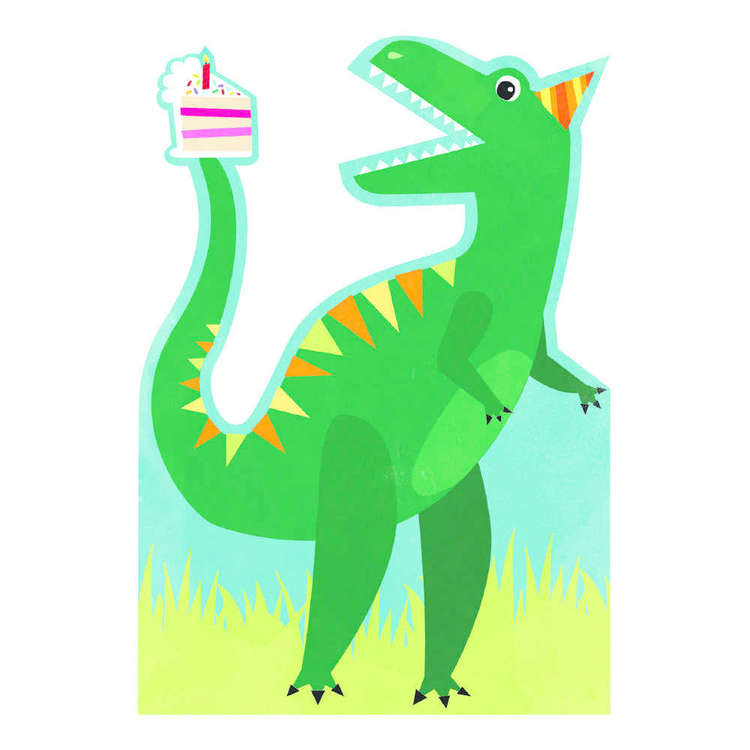 Artwrap Dinosaur Invites 8 Pack