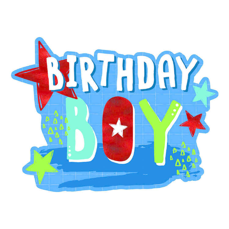 Artwrap Birthday Boy Invites 8 Pack