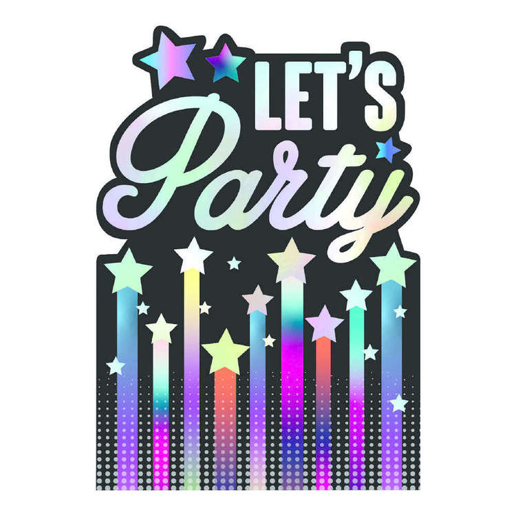 Artwrap Let's Party Invites 8 Pack