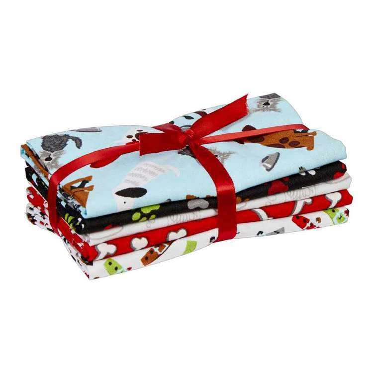 Dog 5 Piece Fat Quarter Bundle