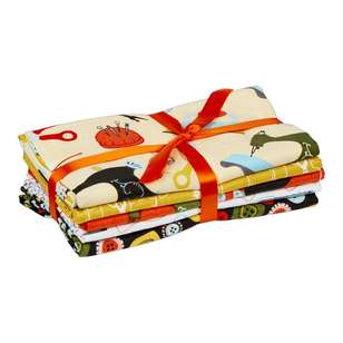 Sewing 5 Piece Fat Quarter Bundle