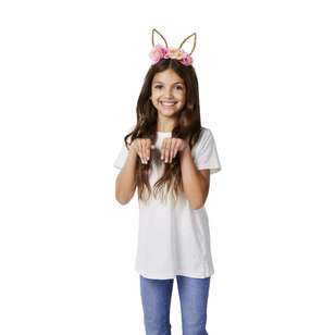 Happy Easter Farmhouse Bunny Headband
