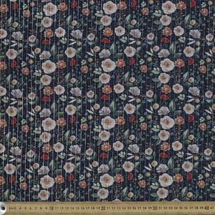 Pot Pourri Digital Printed 148 cm Lurex Lawn Fabric
