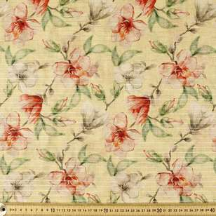 Magnolia Digital Printed 148 cm Lawn Fabric
