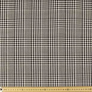 Yarn Dyed Houndstooth Check Viscose Blended Fabric