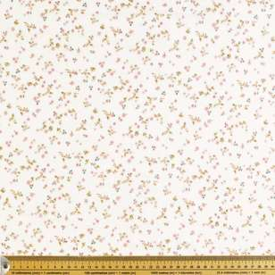 Pretty Daisies Printed 130 cm Crinkle Double Cloth Fabric