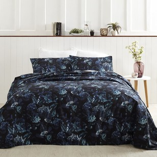 Linen & Co Midnight Shadow Quilt Cover Set