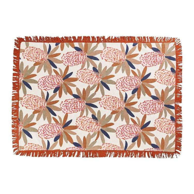 Koo Jocelyn Proust Sia Printed Cotton Rug