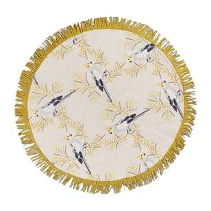 Koo Jocelyn Proust Birdy Printed Cotton Rug