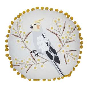 Koo Jocelyn Proust Birdy Printed Round Cushion