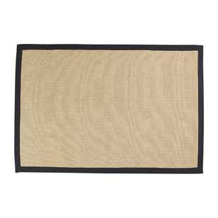 Koo Home Koko Jute Rug With Cotton Border