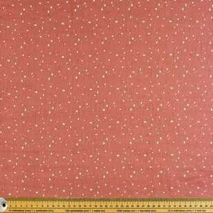 Hail Spot Printed 130 cm Crinkle Double Cloth Fabric