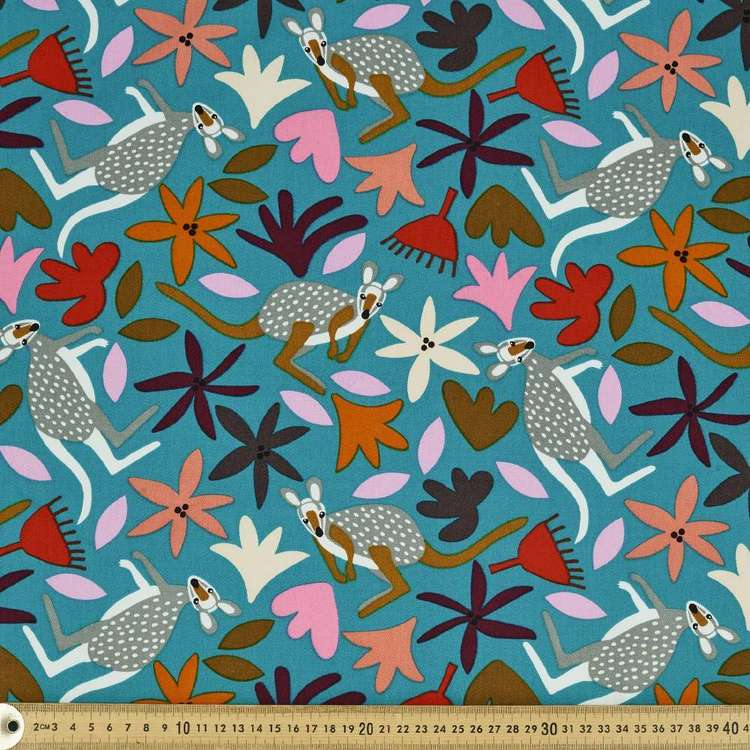 Jocelyn Proust Wallaby Wild 112 cm Montreaux Drill Fabric