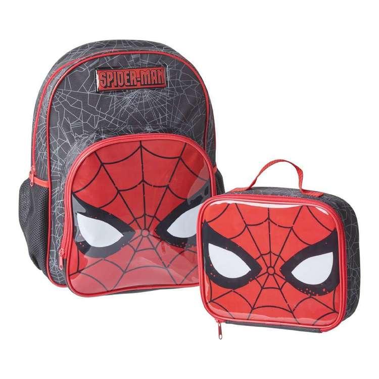 Disney Spiderman Back Pack & Cooler Bag