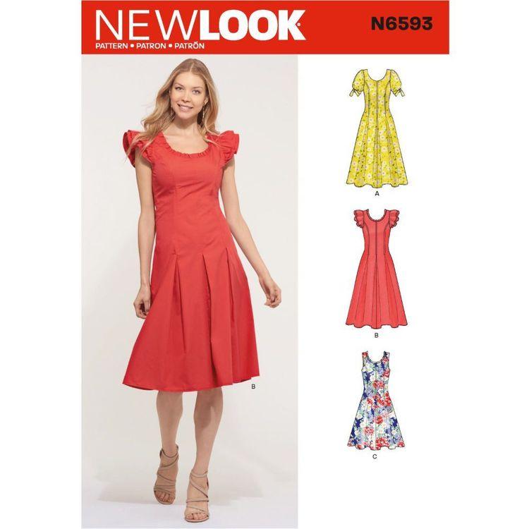 New Look Sewing Pattern N6593 Misses' Dress