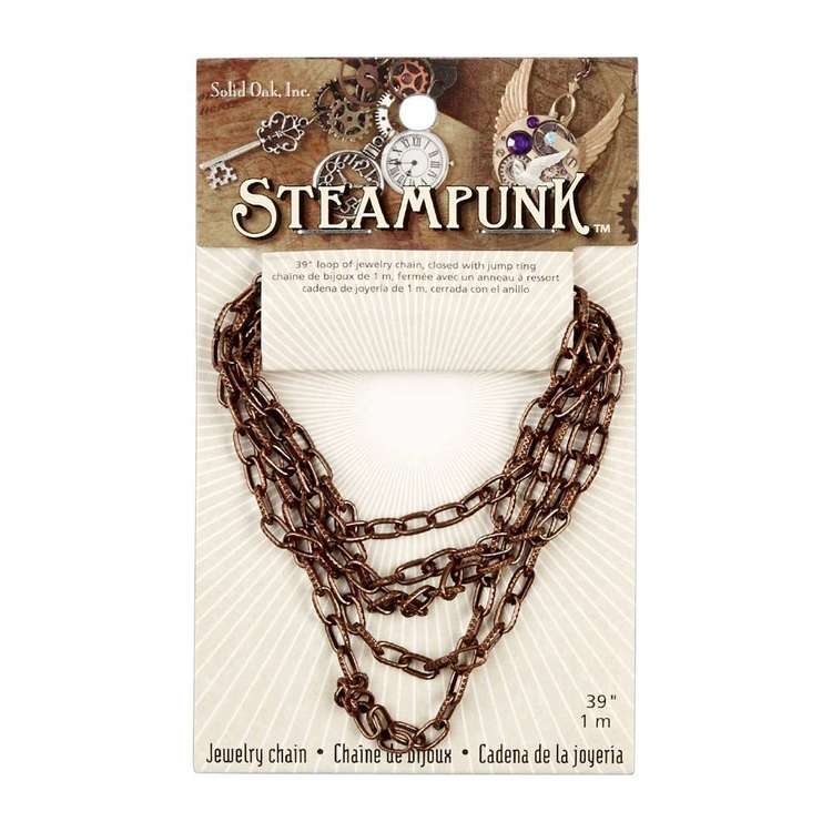 Steampunk Metallic Chain Style A
