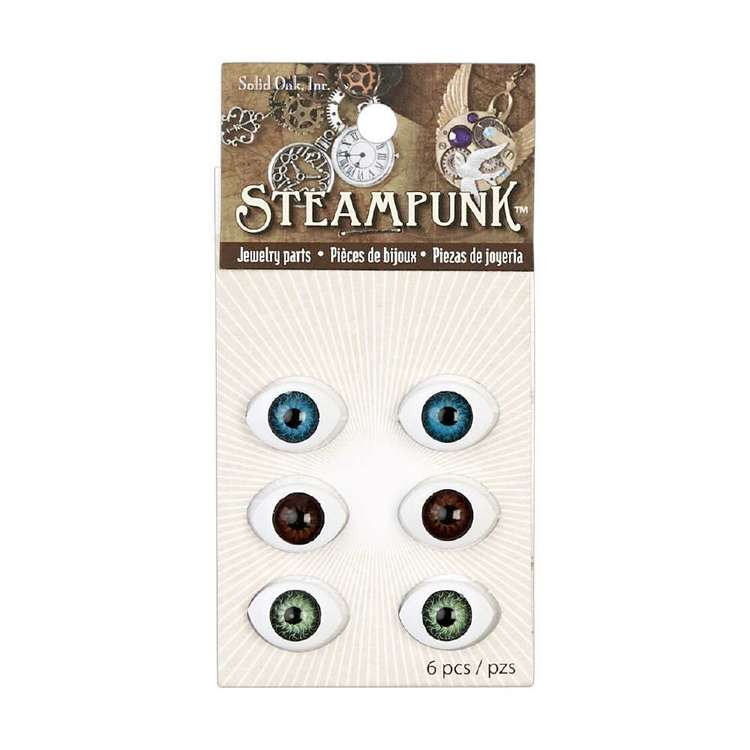 Steampunk Doll Eyes 6 Pack
