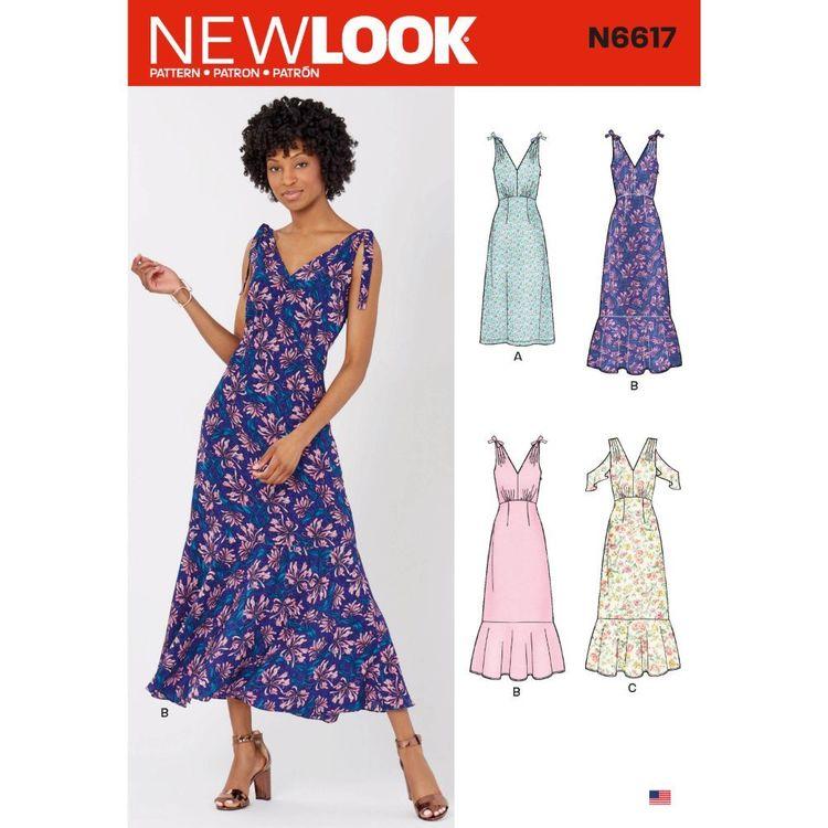 New Look Sewing Pattern N6617 Misses' Dresses
