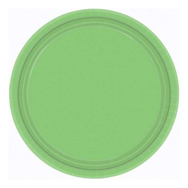 Amscan 17.8 cm Round Paper Plate 20 Pack
