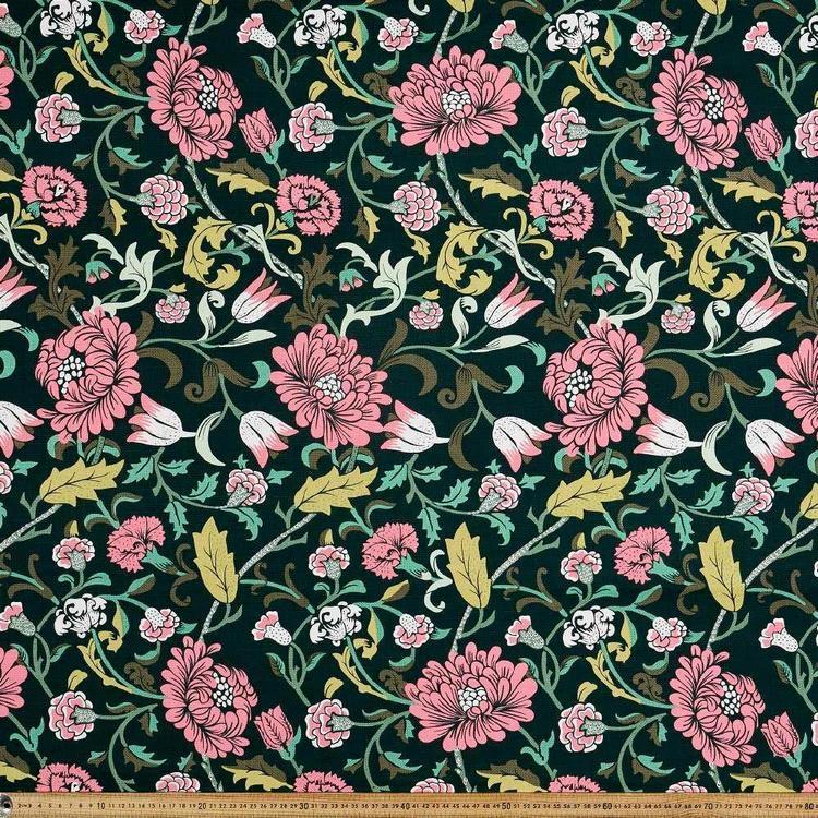 Fleur Floral Printed Canvas