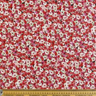 Flower Power Printed Poplin Fabric