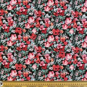 Flower fields Printed Poplin Fabric