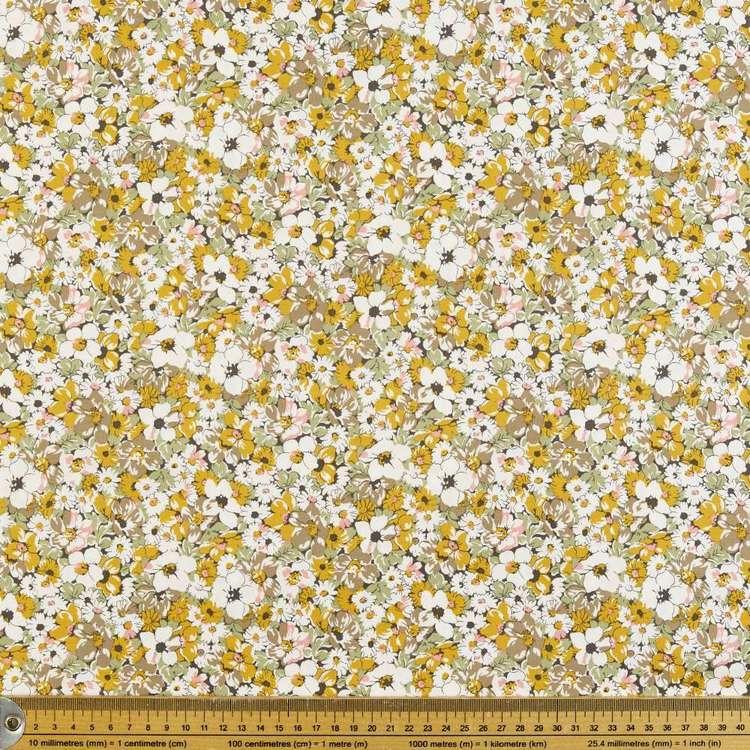 Autumn Printed Poplin Fabric