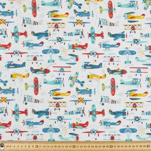 Flying High Multipurpose Cotton Fabric