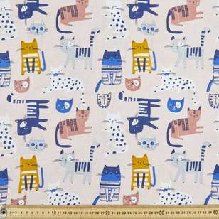 Meow Multipurpose Cotton Fabric