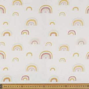 Rainbow Multipurpose Cotton Fabric